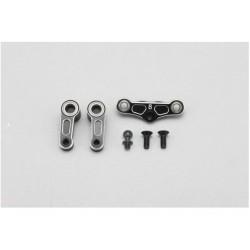YOKOMO B8-202SS BD8-2018 Aluminum Steering Bell Crank Set
