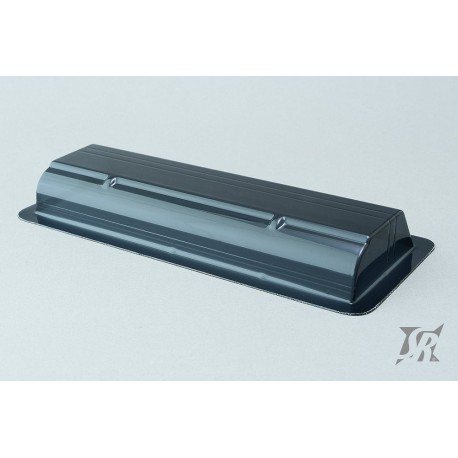 Sweep 1/10 190mm Touring car Wide wing, 1.0mm thickness (Black color)