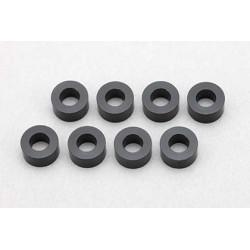 Yokomo ZC-A3630B 3×6×3.0mm Aluminum Shim (8pcs·Black)