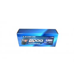 LRP 430280 LiPo 8000mAh HV Stock Spec GRAPHENE-3 7,6V 65/130C 330g
