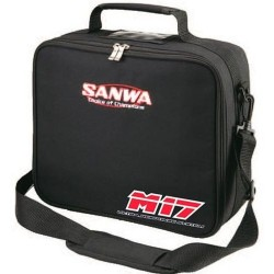 SANWA 107A90355A TRANSMITTER (WHEEL) CARRYING BAG SANWA M17