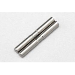 YOKOMO B9-009ART BD9 Titanium Rear 3mm Outer Suspension Arm Pin (Stepped·2pcs)