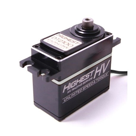 Highest DT2200 High Volt Digital Servo (Black wire)