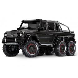 Traxxas TRX-4 Mercedes-Benz G 63 AMG Body 6X6 Electric Trail Truck Black PREORDEN