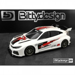 Bittydesign 1/10 HC-M M-Chassis Clear Body 210-225mm wheelbase