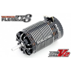 Muchmore FLETA ZX8 Evolution 1/8th Scale Brushless Motor 2200 KV