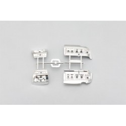 Yokomo Team Samurai Project FC3S Light Unit Plastic Parts