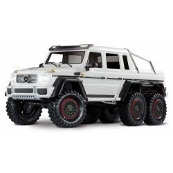 TRAXXAS TRX-6 Mercedes-Benz G63 AMG 6X6 TQi 2.4G RTR White