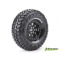 "Louise CR-GRIFFIN Crawler Tires on 1.9"" Black Wheels"