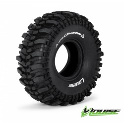 "Louise CR-CHAMP 1.9"" Crawler Tires with Foams"