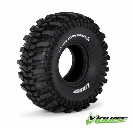 """Louise CR-CHAMP 1.9"""" Crawler Tires with Foams"""