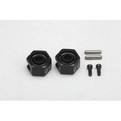 Yokomo YD-2 Aluminum 8.0mm Cramp Wheel Hub (2pcs)