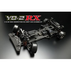 Yokomo Drift Package YD-2RX RWD Chassis Kit, Negro