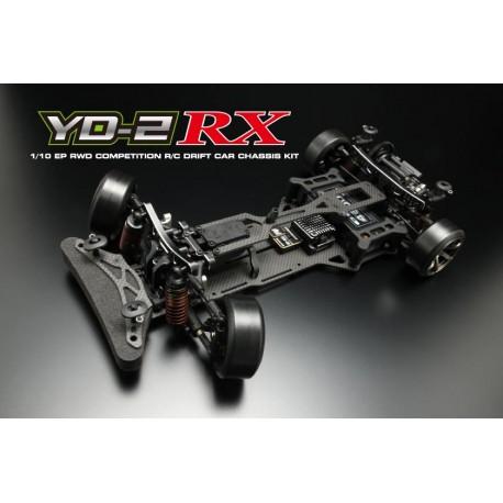 Yokomo Drift Package YD-2RX RWD Chassis Kit, Negro