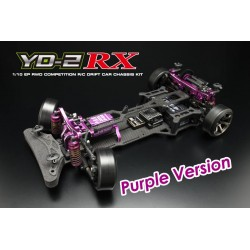 Yokomo Drift Package YD-2RX RWD Chassis Kit, Purpura