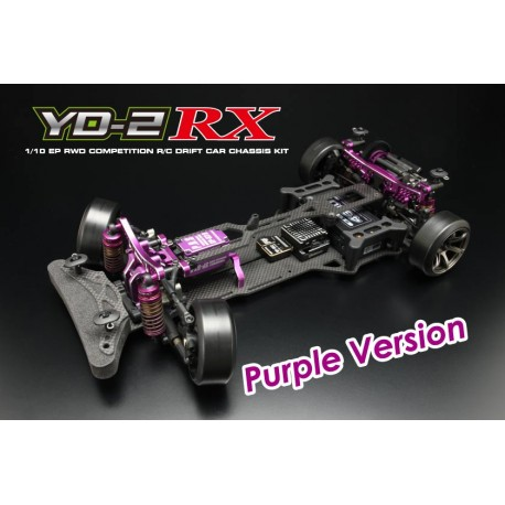 Yokomo Drift Package YD-2RX RWD Chassis Kit, Purpura