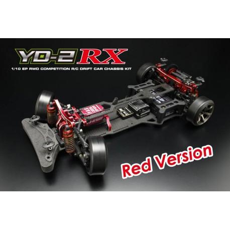 Yokomo Drift Package YD-2RX RWD Chassis Kit, Rojo