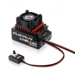 Hobbywing QuicRun 10BL120 Sensored ESC 2-3S Car 1/10