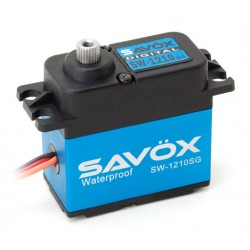 Sävox SW-1210SG Servo 32Kg 0,13s HV Alu Coreless Steel Gear WP