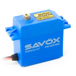 Sävox SW-0231MG Servo 15Kg 0,17s Metal Gear WP