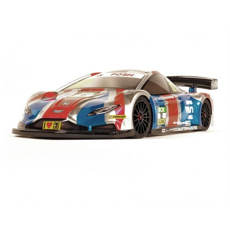 ZooRacing Wolverine 1:10 190mm Touring Car Clear Body - 0.7mm REGULAR